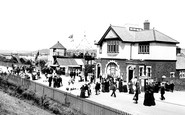 Barry Island, The Pleasure Beach, Railway Entrance 1910