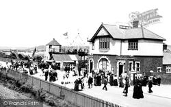 Barry Island, The Pleasure Beach, Railway Entrance 1910