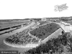 Barry Island, The Promenade And Gardens 1925