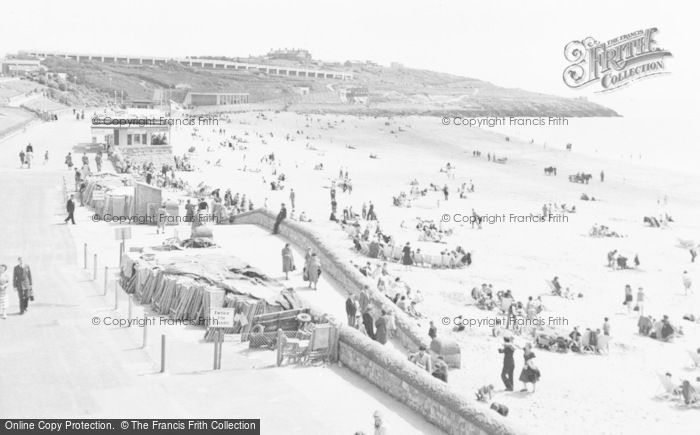 Photo of Barry Island, The Promenade And Nell's Point c.1960