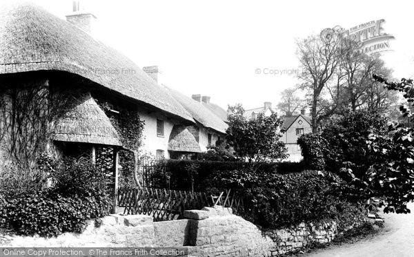 Photo of Barry, Jordan's Cottage, the Old Village 1899