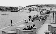 Barry, Knap Boating Lake c.1960