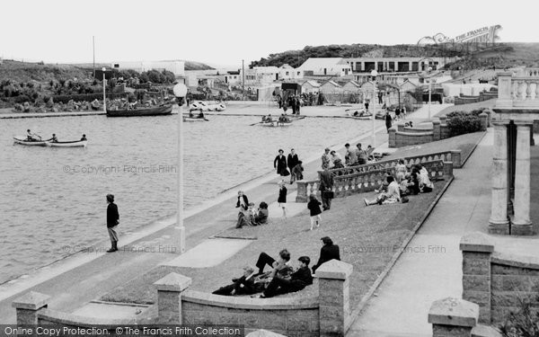 Barry, Knap Boating Lake c1960