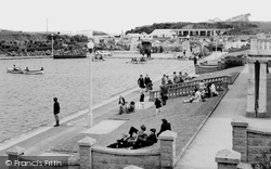 Barry, Knap Boating Lake c.1960