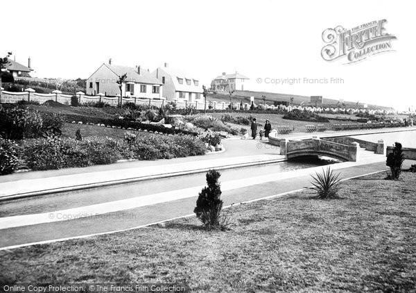 Photo of Barry, Marine Lake at Cold Knap c1931