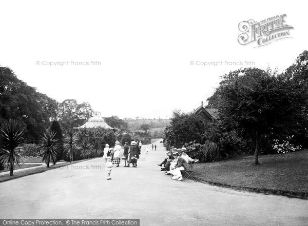 Photo of Barry, Romilly Park c1931