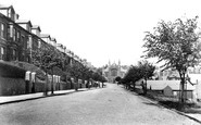 Barry, Romilly Road 1906