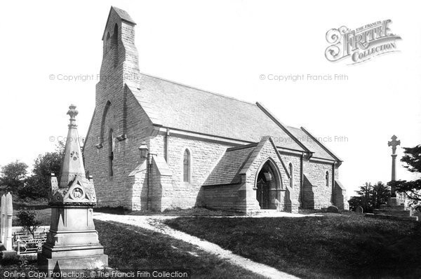 Barry, The Church Of St Nicholas 1899