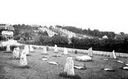 Barry, The Gorsedd Stones, 1920 Eisteddfod c.1931