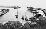 Barry, the Old Harbour 1910