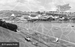 Barry, The Knap, Boating Lake c.1960