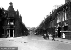Barry, Thompson Street 1925