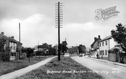 Bedford Road c.1955, Barton-Le-Clay