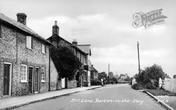 Mill Lane c.1955, Barton-Le-Clay