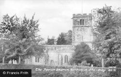 Barton-Le-Clay, Parish Church c.1955
