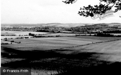 The Hills From Sharpenhoe Road c.1960, Barton-Le-Clay