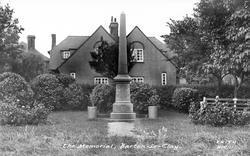 The Memorial c.1955, Barton-Le-Clay