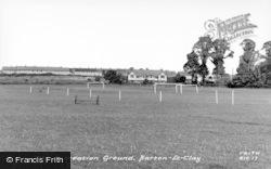 Barton-Le-Clay, The Recreation Ground c.1955