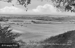 View From Sharpenhoe Road c.1960, Barton-Le-Clay