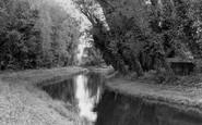 Barton Mills, The River Lark c.1955