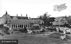 Cliff Cafe c.1960, Barton On Sea