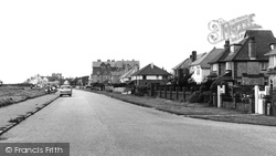 Barton On Sea, Coast Road c.1960