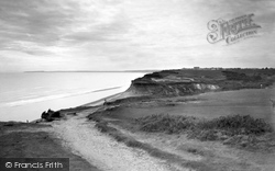 From The Golf Links c.1935, Barton On Sea