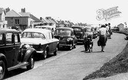 Parked Cars, The Promenade c.1960, Barton On Sea
