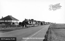 Barton On Sea, The Coast Road c.1960