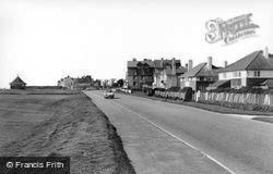 Barton On Sea, The Coast Road c.1965