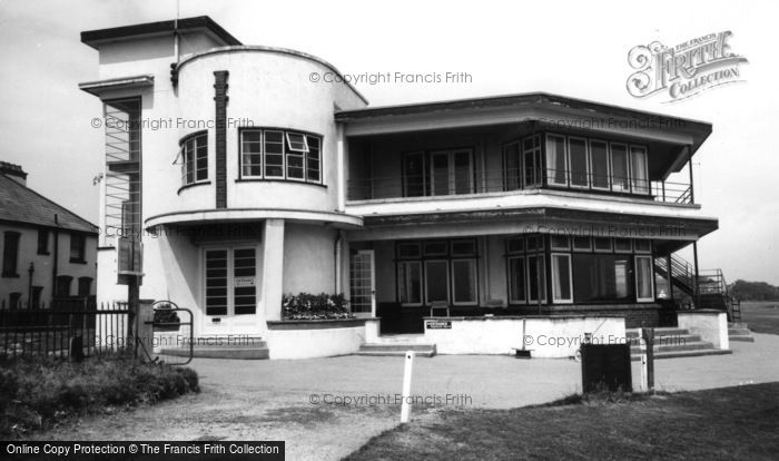 Barton On Sea, The Golf Clubhouse c.1960