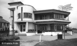 Barton on Sea, the Golf Clubhouse c1960