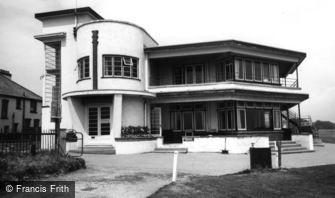 Barton on Sea, the Golf Clubhouse c1960
