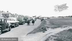Barton On Sea, The Promenade c.1960