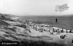 The Sand Hills c.1955, Barton On Sea