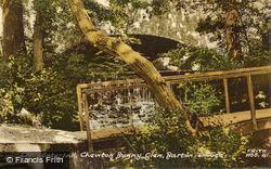 The Waterfall, Chewton Bunny Glen c.1960, Barton On Sea