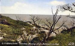 View From Chewton Bunny Glen c.1960, Barton On Sea