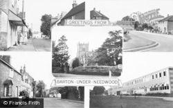 Barton Under Needwood, Composite c.1965