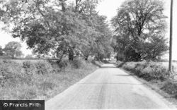 Barton Under Needwood, Dunstall Lane c.1955