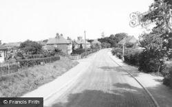 Barton Under Needwood, Efflinch Lane c.1955