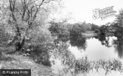Barton Under Needwood, Fishpond, Efflinch Lane c.1955