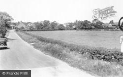 Barton Under Needwood, Mill Crescent c.1955