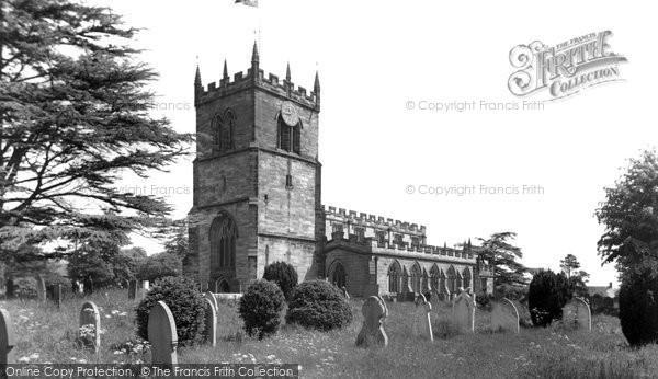 Photo of Barton under Needwood, St James' Church c1955