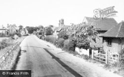 Barton Under Needwood, Station Road c.1965