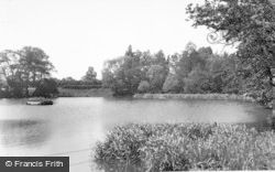 Barton Under Needwood, The Fish Pond c.1955