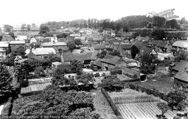 Barton Under Needwood, The Village c.1955