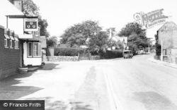 Barton Under Needwood, Three Horseshoes, Main Road c.1965
