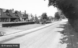 Barton Under Needwood, Upper Main Street c.1955