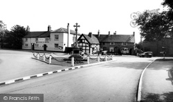 Barton Under Needwood, Village Centre c.1955