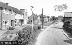 Barton Under Needwood, Wales Lane c.1965
